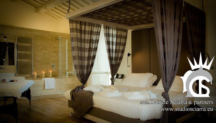 Spa Suite con zona doccia a vista
