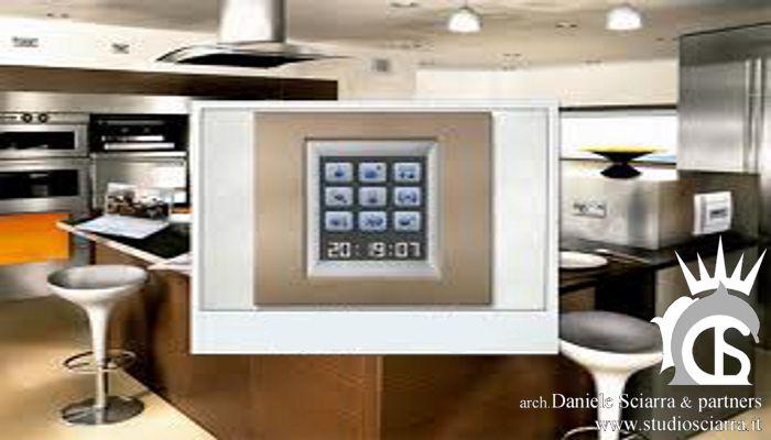 domotica: gestione ambienti da touch screen