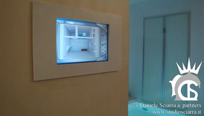 domotica: gestione ambiente semplificato con foto su touch screen
