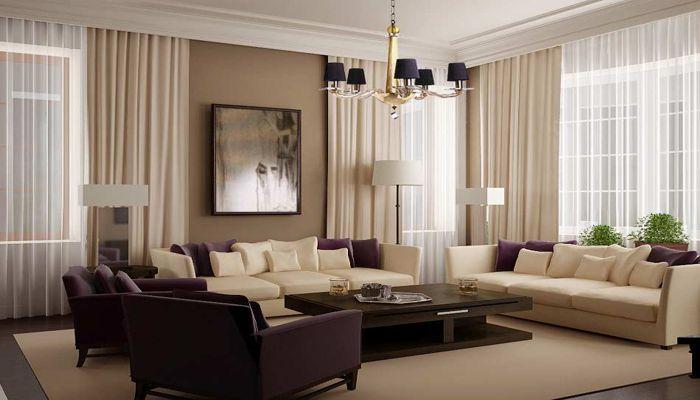 soggiorno elegante classico