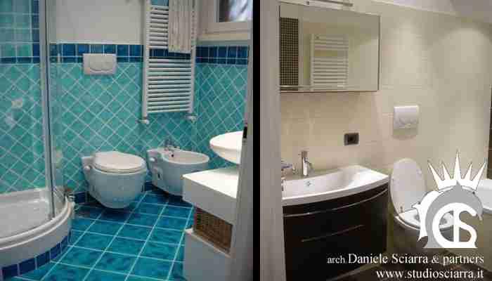 Le stanze da bagno