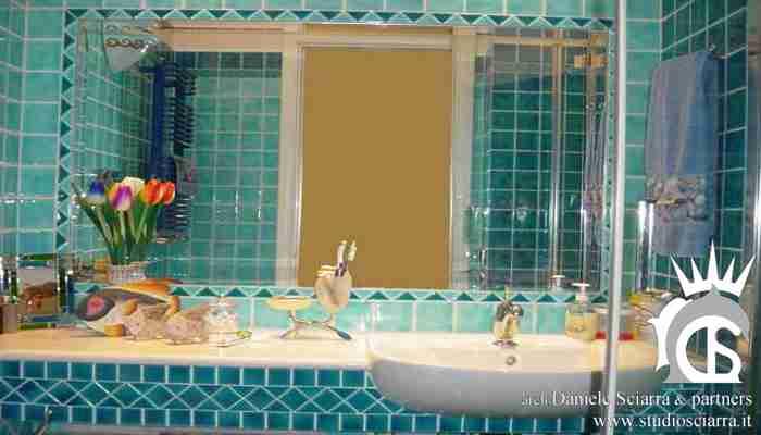 Il bagno azzurro di coppia