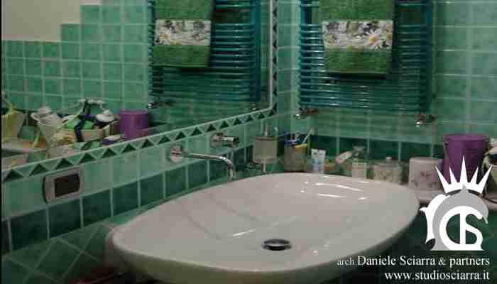 Il bagno verde per gli ospiti