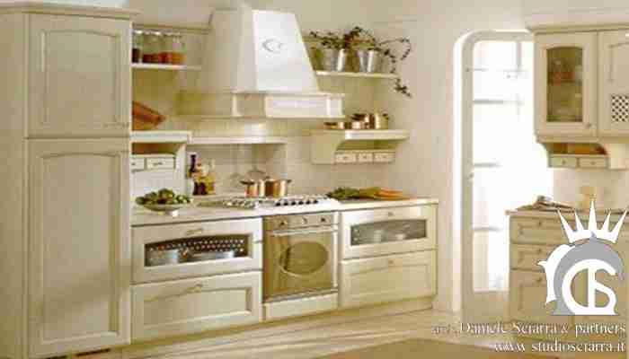 La cucina romantica