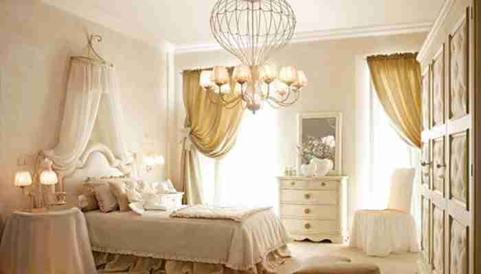 La stanza da letto della bambina