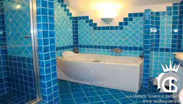 Il bagno di coppia in Cerasarda