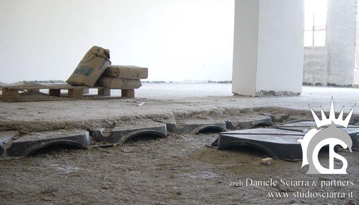 Isolamento termico: creazione pavimento rialzato e ventilato