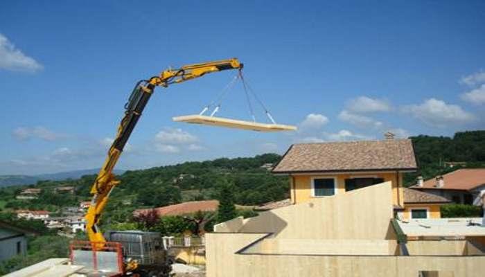 Casa ecologica in legno progetti e realizzazioni con for Piani di casa con vista sull acqua