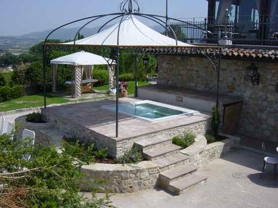jacuzzi piscina idromassaggio bioedilzia progetto albergo bioedilizia hotel progettazione albergo bioedilizia hotel